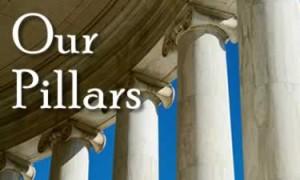 our pillars banner