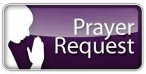 prayer request banner