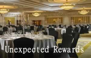 unexpected rewards