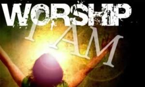 worship I AM banner