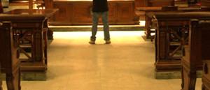 standing before judge