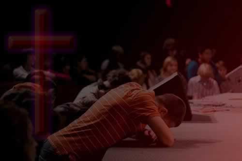 altar praying