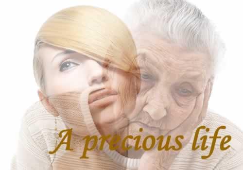 a precious life banner