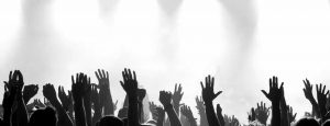 Hands up Banner