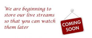 Storing Live Streams