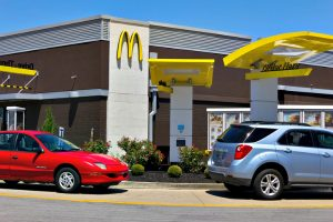 McDonalds Drive up