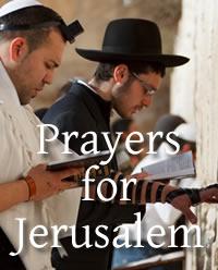 Prayers for Jerusalem